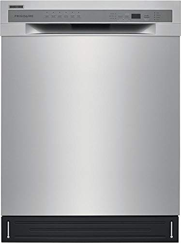 Frigidaire FFBD2420US 24 Inch Built In Full Console Dishwasher in Stainless Steel