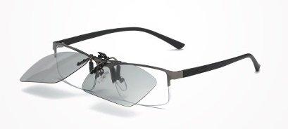 changeantes intelligent de anti anti lunettes caméléon clip pilote pour hommes soleil HD de UV de baianf lunettes soleil près clip clip des UVA soleil vue Vision de polariser avec femmes Night lunettes couleurs nu CSqaZwT