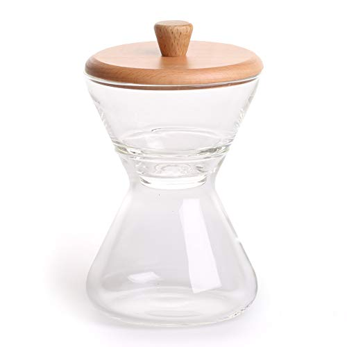CHEMEX Handblown Glass Cream & Sugar Set, 1 Each