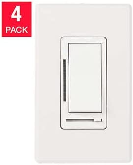 Two Pack Feit Electric Dimmer Switches Can be Used for LEDs With All Hardware