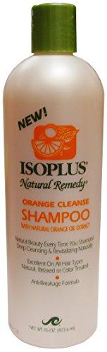 Isoplus Natural Remedy - Isoplus Natural Remedy Orange Cleanse Shampoo, 16 Ounce