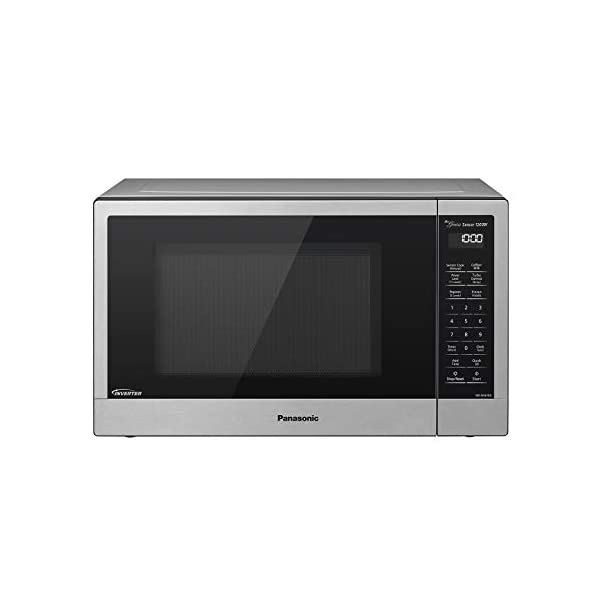 Panasonic Compact Microwave Oven with 1200 Watts of Cooking Power, Sensor Cooking, Popcorn Button, Quick 30sec and Turbo… 1