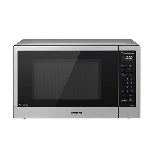 Cheap Panasonic Compact Microwave Oven with 1200 Watts of Cooking Power, Sensor Cooking, Popcorn Button, Quick 30sec and Turbo Defrost - NN-SN67KS - 1.2 cu. ft (Stainless Steel / Silver) panasonic microwaves