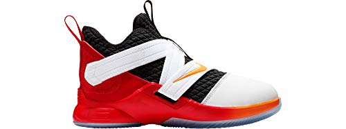 Nike Youth Lebron Soldier XII (GS) AA1352 181 White/Red/Black (6.5y) (The Best Lebron 12)
