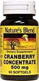 Cranberry Concentrate 500 Milligrams 60 Sgels Review