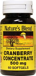 Cranberry Concentrate 500 Milligrams 60 (500 Cranberry)