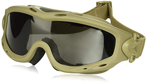 Wiley X 4523-0205 SP29T Spear Goggles, Smoke