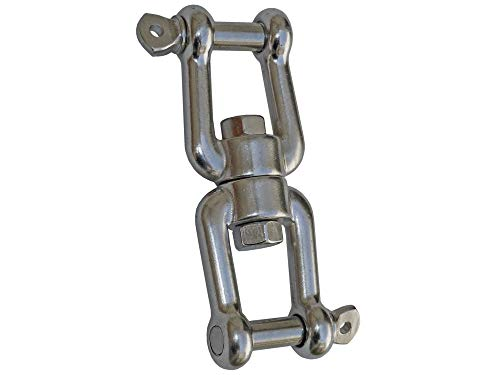 "Five Oceans Swivel Double Shackle 1/2"" FO-473"
