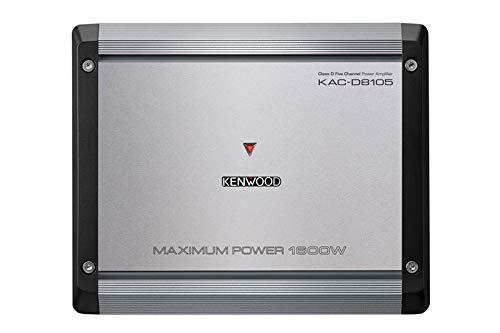 Kenwood KAC-D8105 5 Channel 1600 Watts Max Power Amplifier (5 Channel Marine Amplifier)