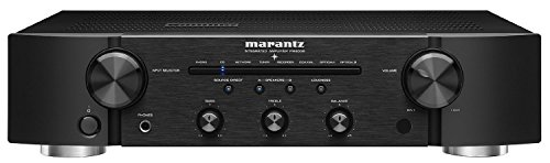 Marantz PM6006 Integrated Amplifier | Pre-Amp or Power Amp Integration | Superior Sound from Hi-Res Audio Files | Gold-Plated Inputs/Outputs | Complete the Series with the NA6006 and - Discrete Drums Series