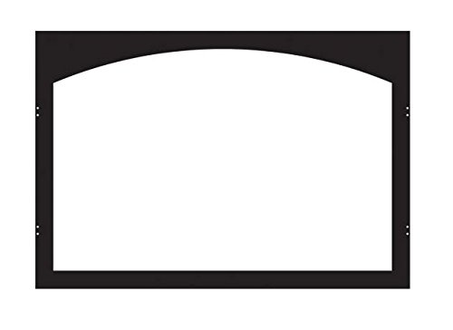 ECS VFY32SBL Arch Fireplace Door Frame - Matte Black by Empire Comfort Systems