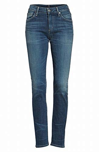 Citizens of Humanity Women 30X34 Low Rise Straight Jeans Blue 30 from Citizens of Humanity