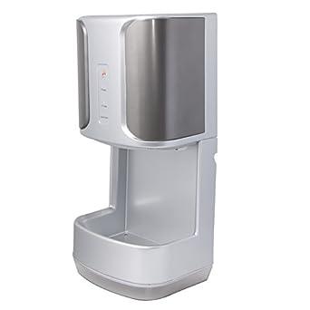 Kenrod Secamanos K2002 con Bandeja Recoge Agua Secamanos Eléctrico de Aire para Baño y Automático
