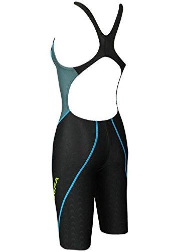 Yingfa 953-2 Sharkskin KneeSkin Black / Grey Sizes 26 XS