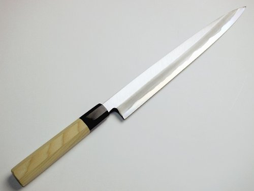 Sashimi Hocho (Yanagiba Kitchen Knife) 270 mm for Right Hander, Blade Edge : Aogami Steel No. 2 by HONMAMON