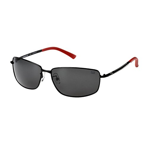 Workwear Black Allen Adjustable CAT Polarized Sunglasses Flexible Mens Matt CTS dBqBcWza