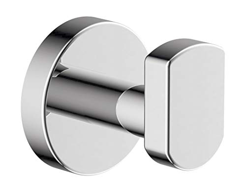 Symmons 353RH Dia Wall-Mounted Robe Hook in Polished Chrome