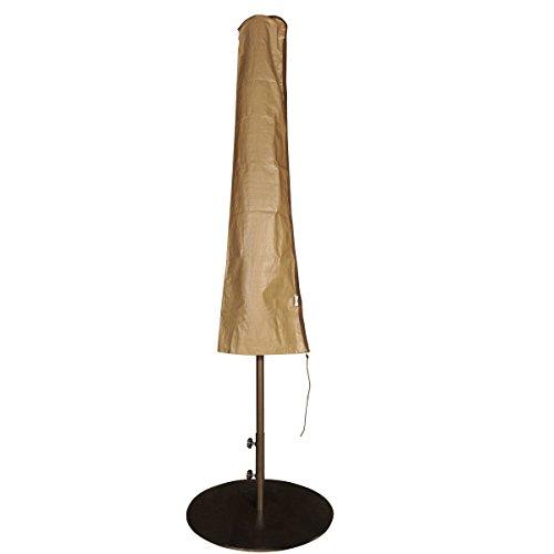 11' Umbrella Cover (Abba Patio Outdoor Market Patio Umbrella Cover for 7-11 Ft Umbrella, Water Resistant, Brown)