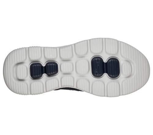 Skechers Men's GO Walk Evolution Ultra-Impeccable Sneaker, Navy/Gray, 16