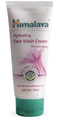 Himalaya HERBALS Himalaya Hydrating Face Wash Cream 50ml (Pack of 3)