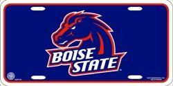NCAA Boise State Broncos Metal License Plate Tag ()