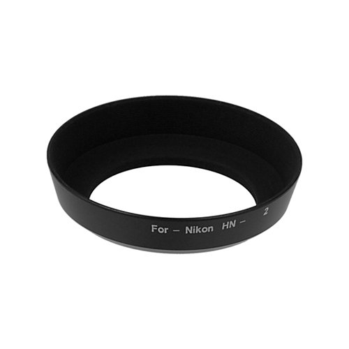 Fotodiox Lens Hood for Nikon 28mm f//2.8 D-AF 52mm Screw-in 24-70mm f//3.5-5.6 IX Lenses 35-70mm f//3.3-4.5 Replaces Nikon HN-2 Lens Hood