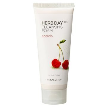 The Face Shop Herb Day 365 Acerola Cleansing Foam - 365 Shop