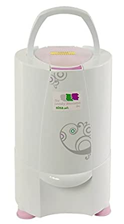 The Laundry Alternative Nina Soft Spin Dryer, Ventless Portable Electric Dryer. 3 Year Warranty, 127V, 60 Hz