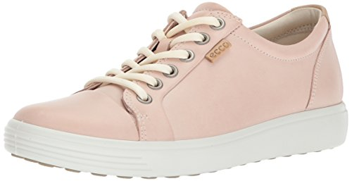ECCO Footwear Womens Women's Soft 7 Fashion Sneaker, Rose Dust, 41 EU/10-10.5 M US