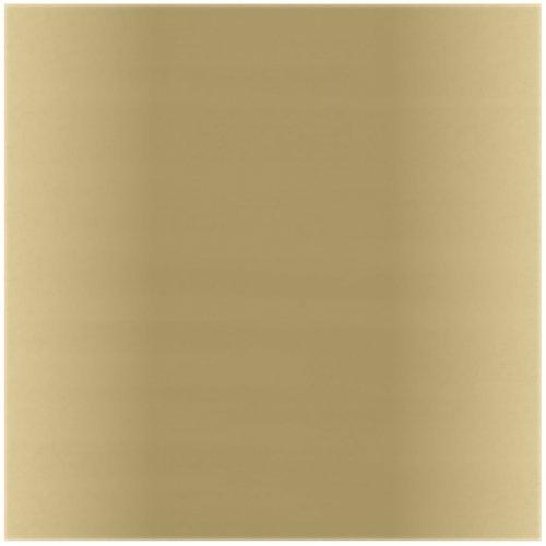 Bazzill ホイルカードストック 12インチ×12インチ ゴールドマット B001FYO8X0