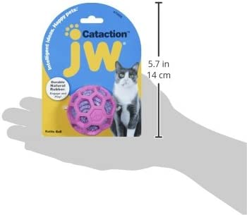 JW Pet Company Cataction Rattle Ball, Cat Toy 5
