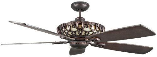 Bronze Functional Fan Light - Concord 60AC5ORB Ceiling Fans with No Shades, Oil Rubbed Bronze Finish