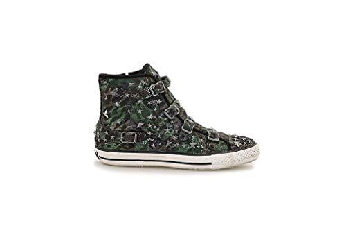 Para Zapatillas Verde Ash Mujer Militare T5xw6fn