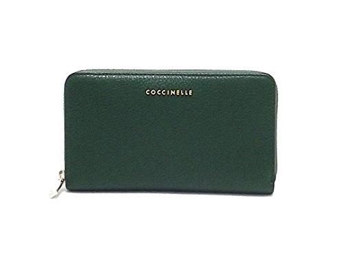 Coccinelle portafoglio donna, AW1 113201, pelle, verde A7102
