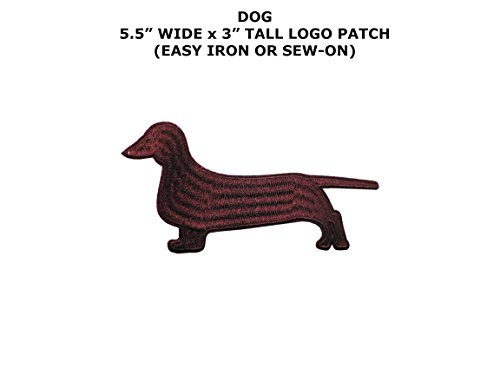er Dog Embroidered Iron/Sew On Patch By Superheroes ()