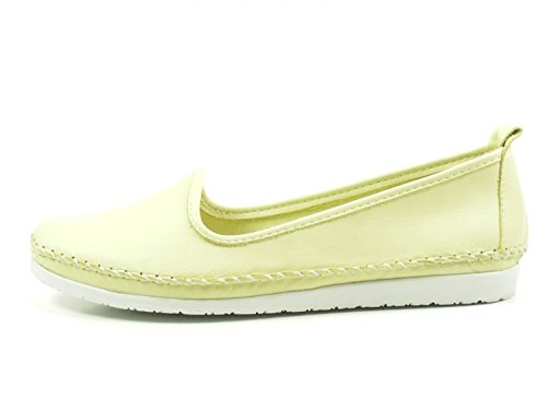 Andrea Conti Ladies Slipper 0027449 Mocassini Ballerina Verde
