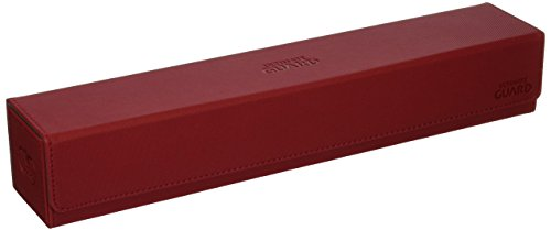 Ultimate Guard Flip´N´Tray Mat Case XenoSkin Card Game, Red, One Size