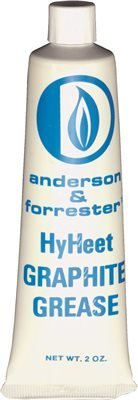 Anderson & Forrester VA126 Graphite Stop Cock Grease, 2 oz, for use up to 185°F