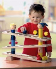 HABA First Wooden Ball Track Roll 'n Roll 'n Roll (Made in Germany) by HABA (Image #4)