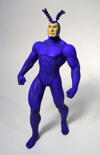 THE TICK with REAL SUPERHERO LICENSE