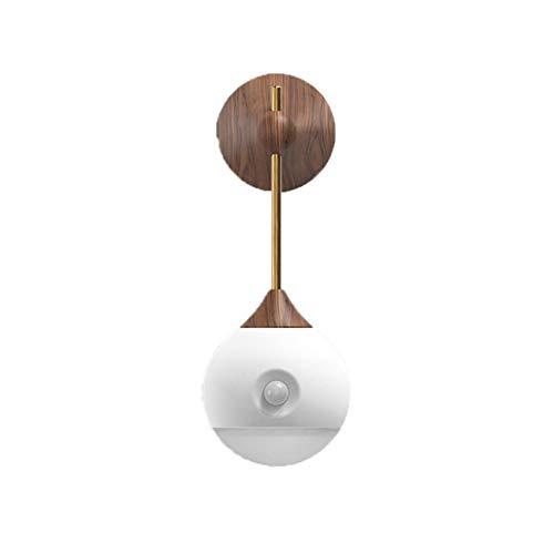 Induction Lamp Night Light, Home Bedroom Bathroom Wall Hanging Smart Body Sensor Lamp, Usb Night Light Corridor Bathroom Bedroom Intelligent Body Sensor Bedside Lamp