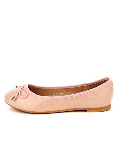 Rose Cendriyon BO'AIME Chaussures Ballerine Vernie Femme ZrEr4qA