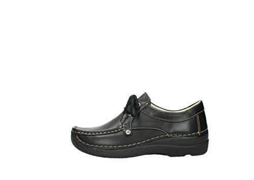 Black Stroll Wolky 30000 Leather nbsp;seamy Schnürschuhe 6286 Aqwz1X
