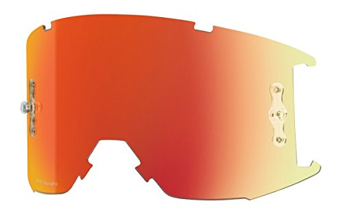 Smith Optics Squad MTB Adult Replacement Lens Off-Road Motorcycle Eyewear Accessories Chromapop Everyday Red Mirror ()