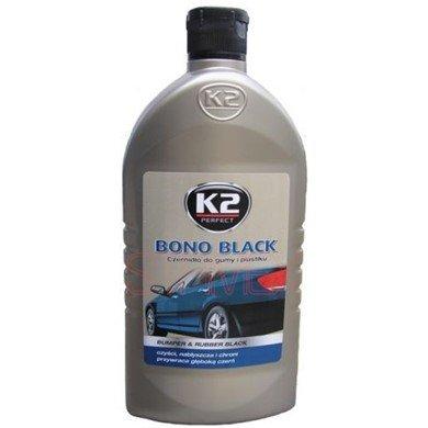 K2 Bono negro, parachoques de coche y atenció n, parachoques de goma y plá stico restaurador 500 ml parachoques de coche y atención parachoques de goma y plástico restaurador 500ml