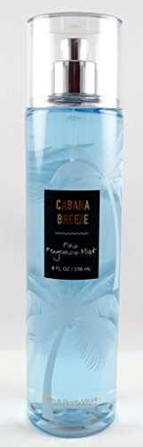 Body Spritz Banana - Bath & Body Works Cabana Breeze 8 Ounce Fine Fragrance Mist