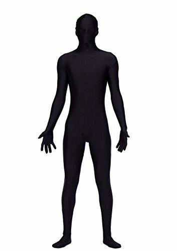 COLOR LIFE Mens Unitard Long Sleeve Spandex Bodysuit Full Bodysuit Tights Suit Lycra Zentai (Full Bodysuit Costume)