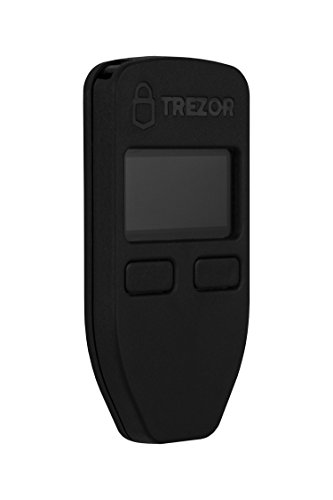 Trezor Hardware Wallet by Satoshi Labs | Bitcoin Wallet | USB Bitcoin Wallet | Crypto Wallet – Trezor Black