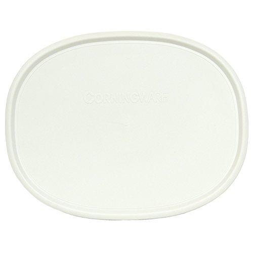 Corningware F-2-PC Oval French White 2.5-qt or 1.5-qt Lid