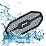 2BOOM Tuff Waterproof Rugged Bluetooth Wireless Outdoor Portable Speaker Silver